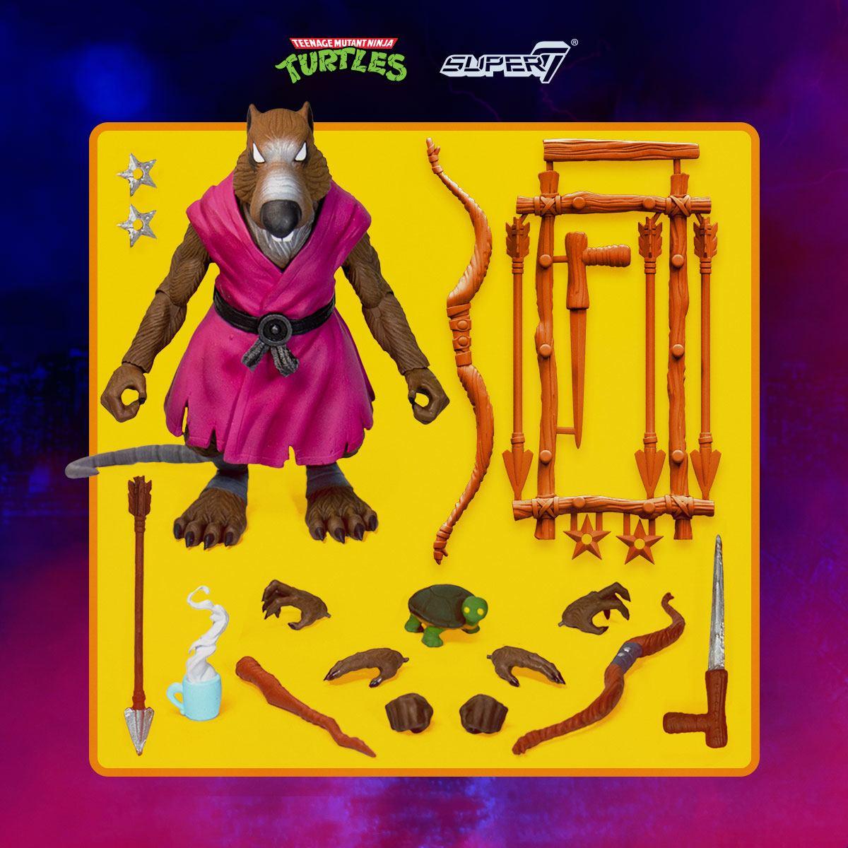 Teenage Mutant Ninja Turtles Ultimates Action Figure Splinter 18 cm