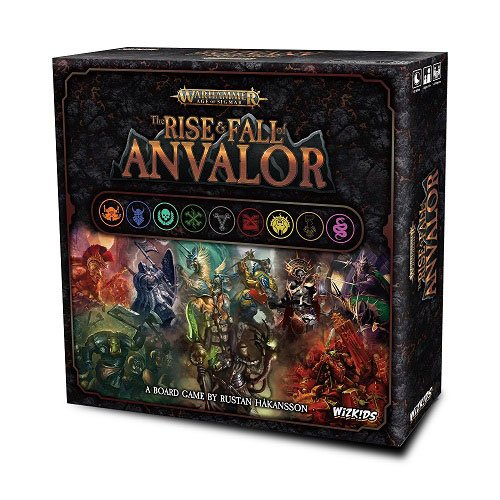 Warhammer Age of Sigmar Board Game The Rise & Fall of Anvalor *English Version*