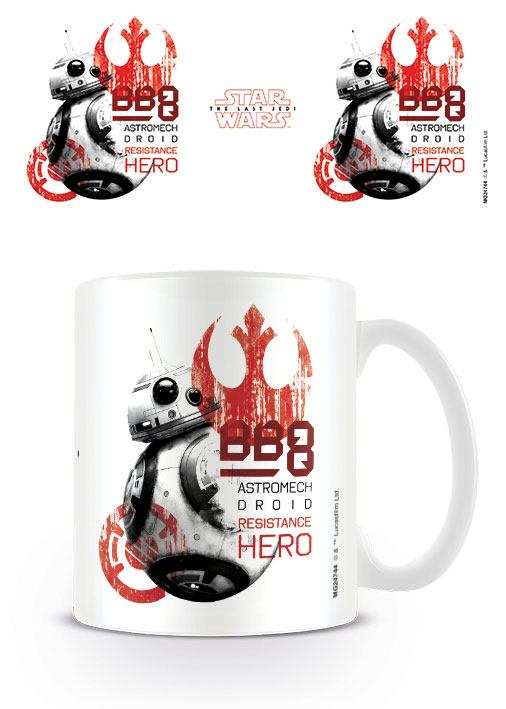 Star Wars Episode VIII Mug BB-8 Resistance Hero