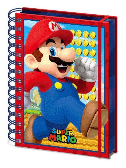 Super Mario 3D Wiro Notebook A5 Mario