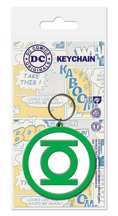DC Comics Rubber Keychain Green Lantern 6 cm