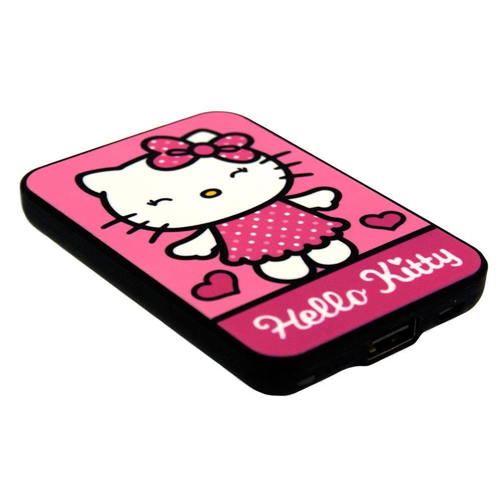 Hello Kitty Credit Card Sized Power Bank 5000 mAh Hello Kitty
