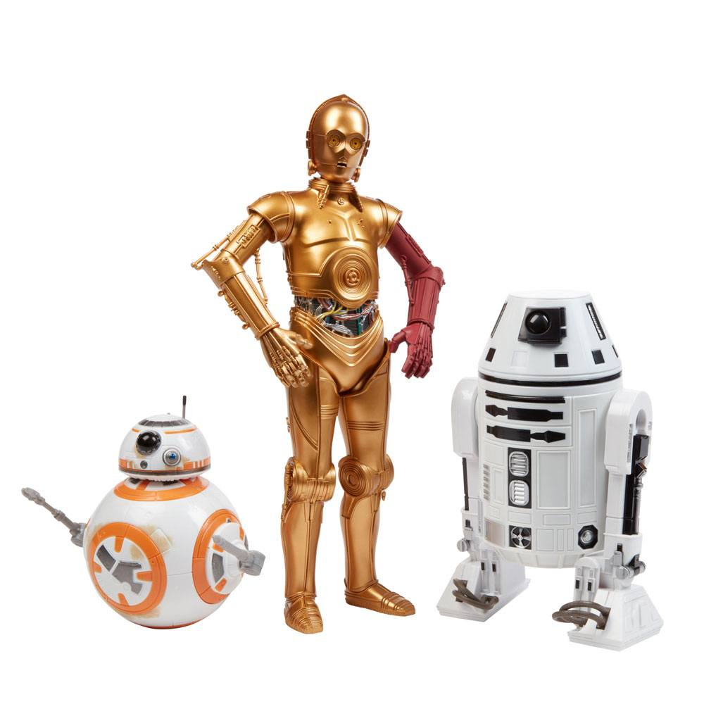 Star Wars Episode VII Action Figure 3-Pack Droids Exclusive 30 cm --- DAMAGED PACKAGING