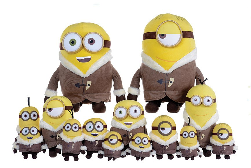 Minions Plush Figures Ice Village 15 cm Assortment fabric (12)