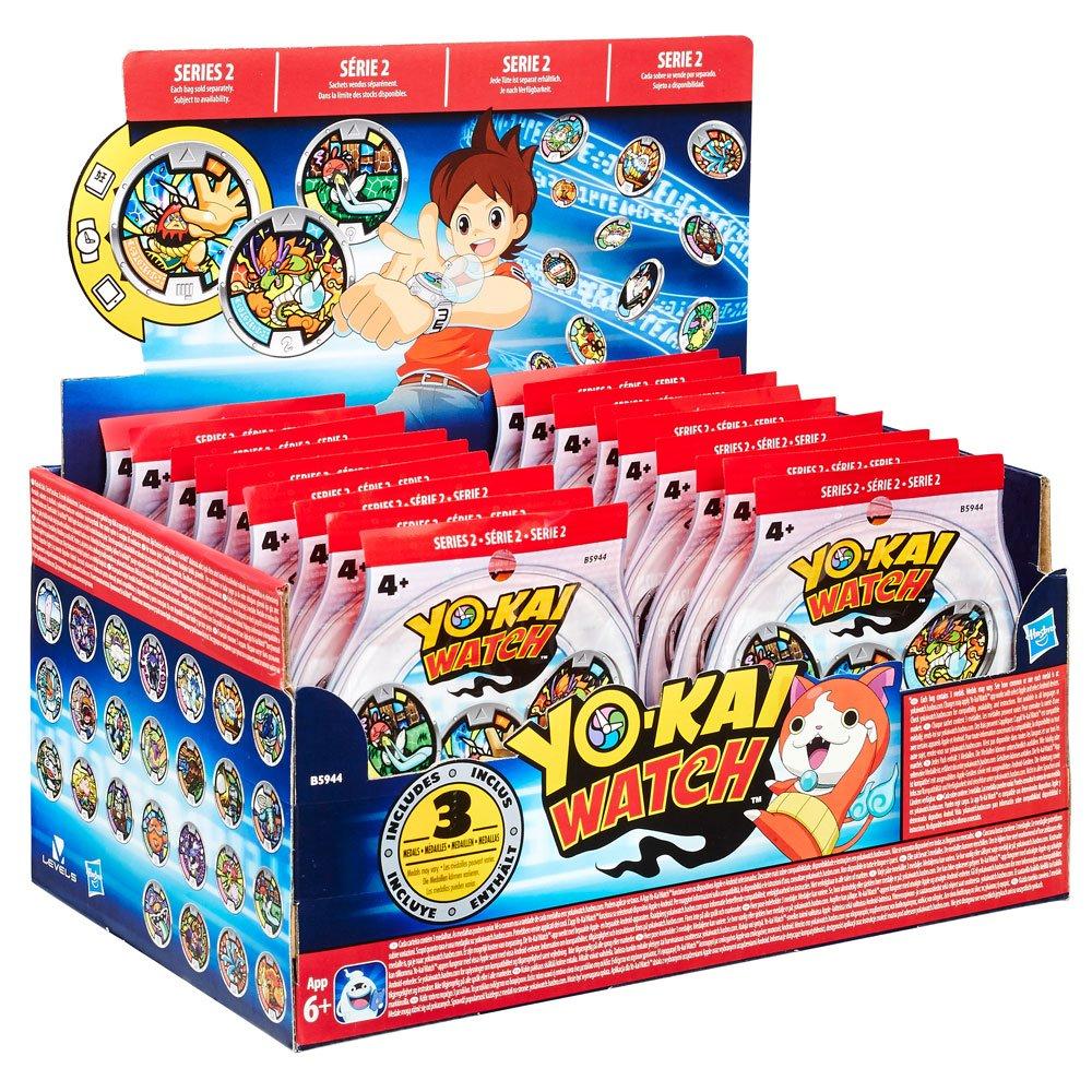 Yo-Kai Watch Medals 3-Pack Blind Bags 2016 Series 2 Display (24)