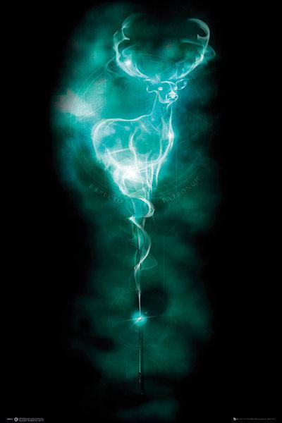 Harry Potter Poster Pack Patronus Stag 61 x 91 cm (5)