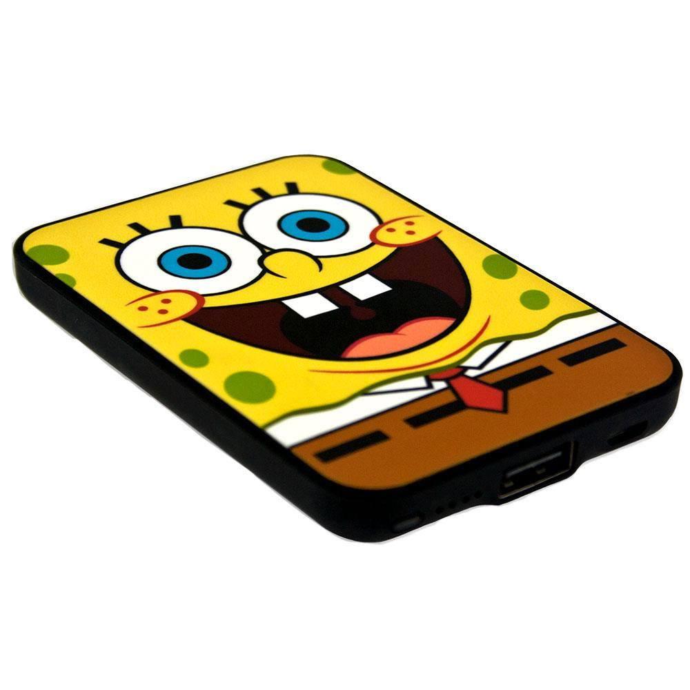SpongeBob SquarePants Credit Card Sized Power Bank 5000 mAh SpongeBob