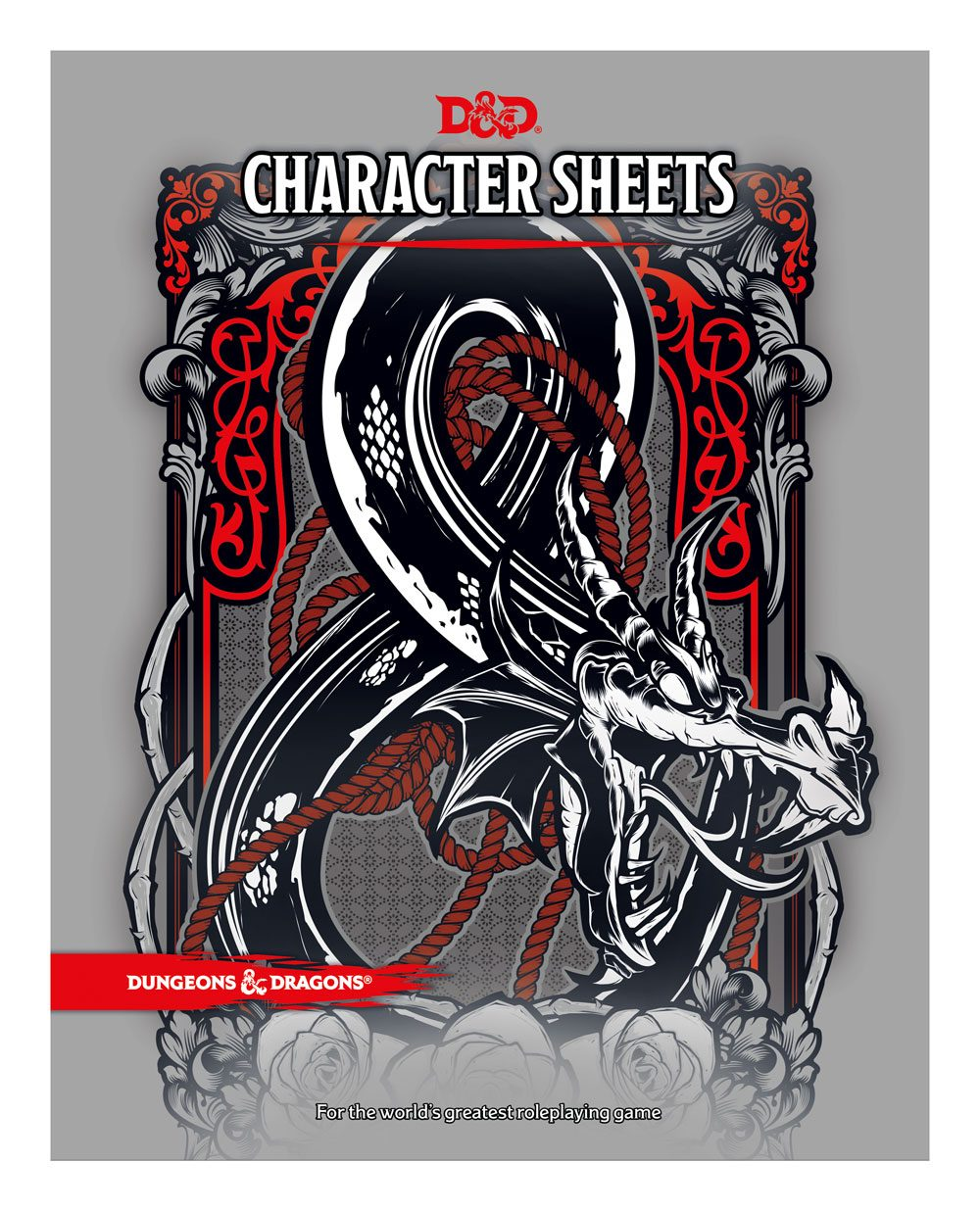 Dungeons & Dragons RPG Character Sheets (24) english