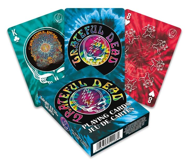 Grateful Dead Playing Cards Logo