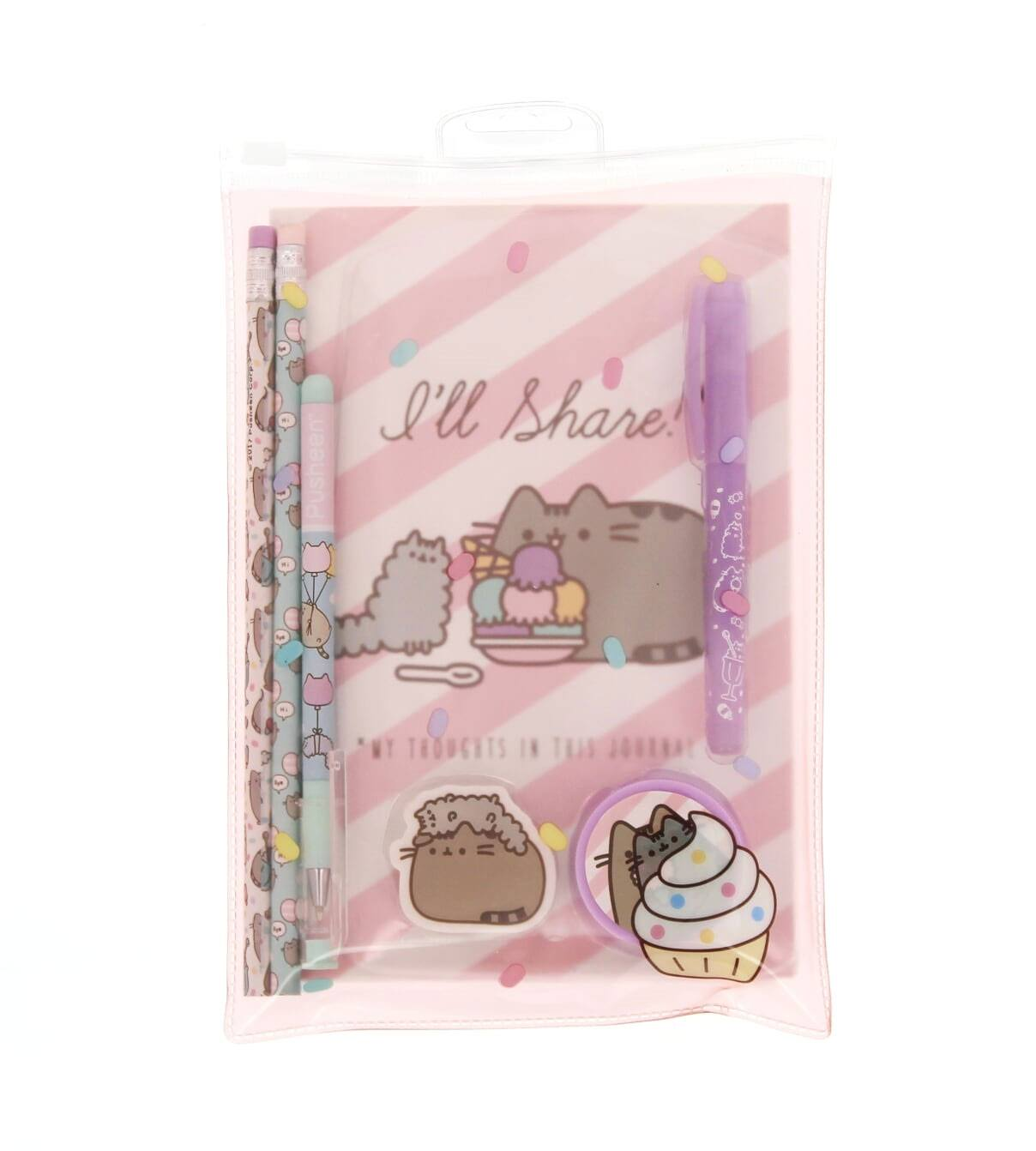 Pusheen Stationery Set I'll share