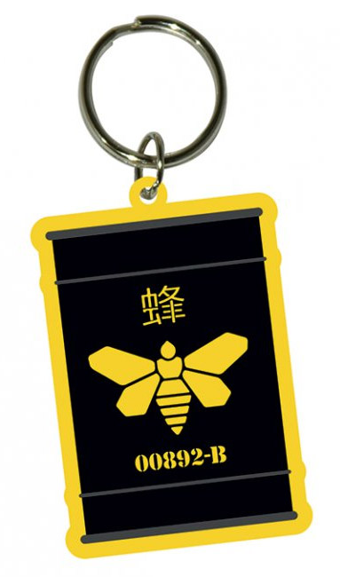 Breaking Bad Rubber Keychain Golden Moth 6 cm