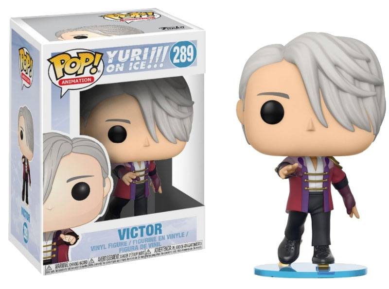 Yuri!!! on Ice POP! Animation Vinyl Figure Victor 9 cm