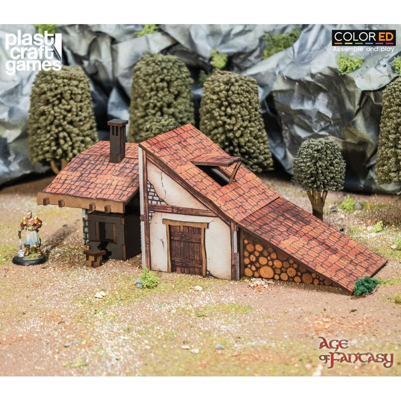 Age of Fantasy ColorED Miniature Gaming Model Kit 28 mm The Anvil of Whispers