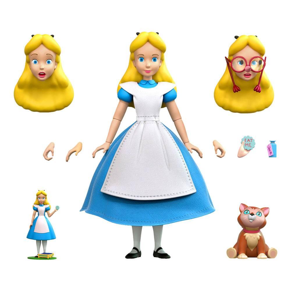 Alice in Wonderland Disney Ultimates Action Figure Alice 18 cm