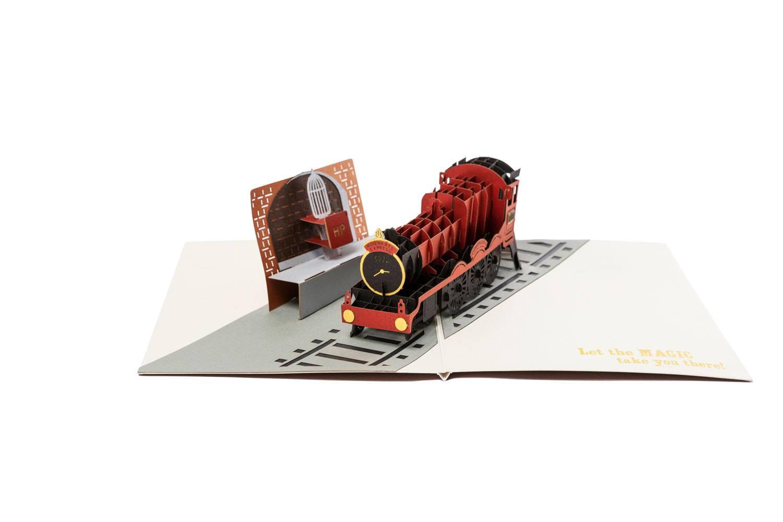 Harry Potter 3D Pop-Up Greeting Card Hogwarts Express