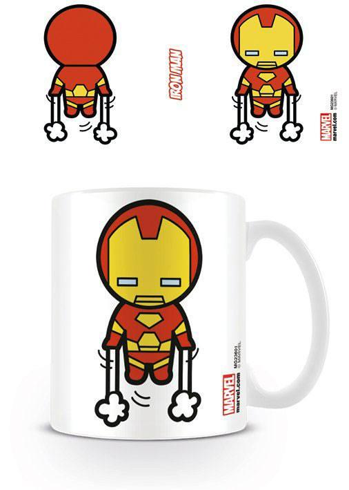 Marvel Comics Mug Kawaii Iron Man