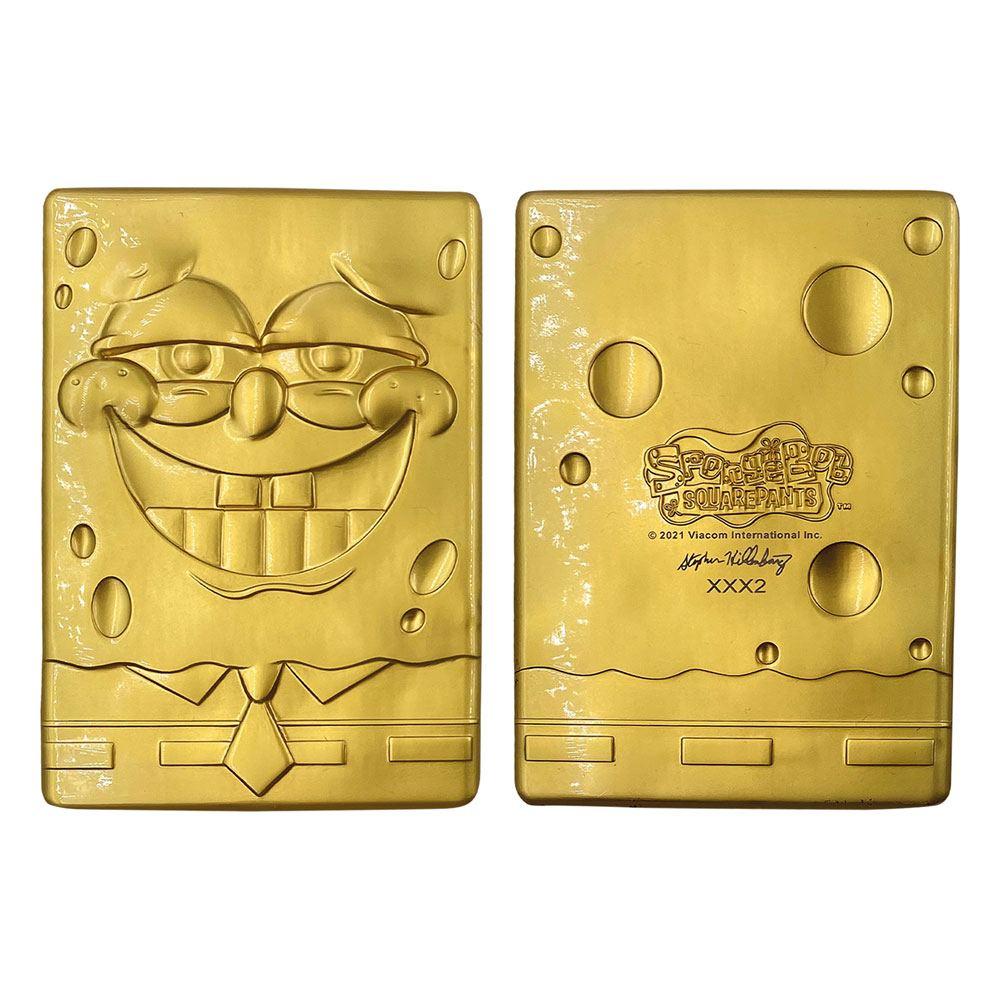 SpongeBob Ingot Limited Edition (gold plated)