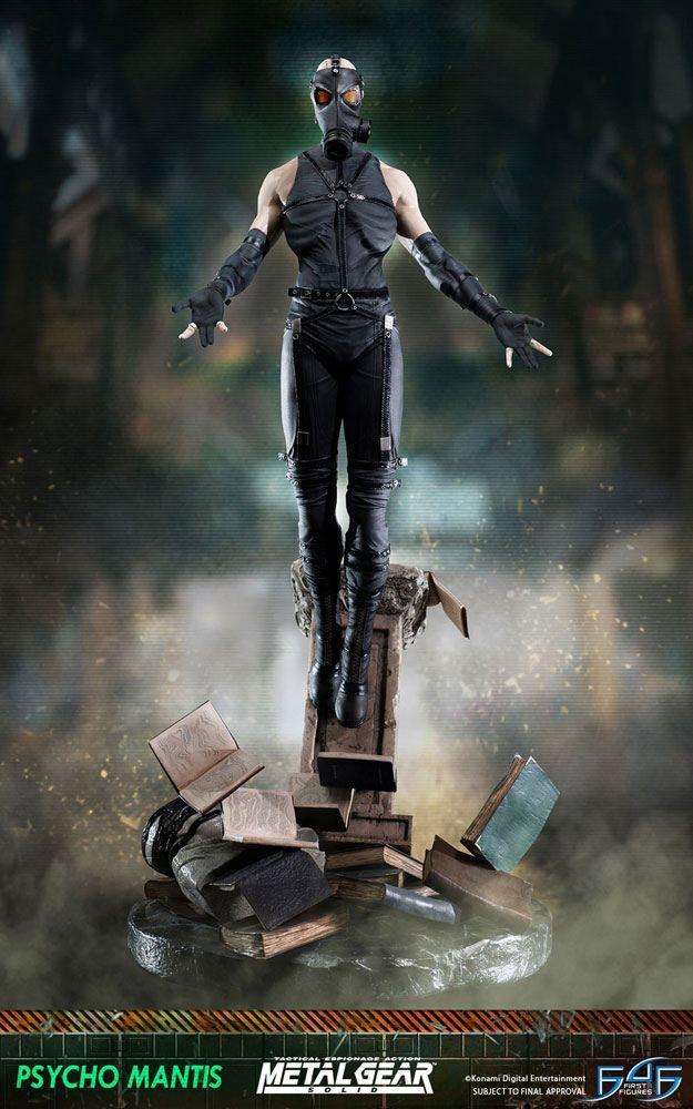 Metal Gear Solid Statue Psycho Mantis 66 cm