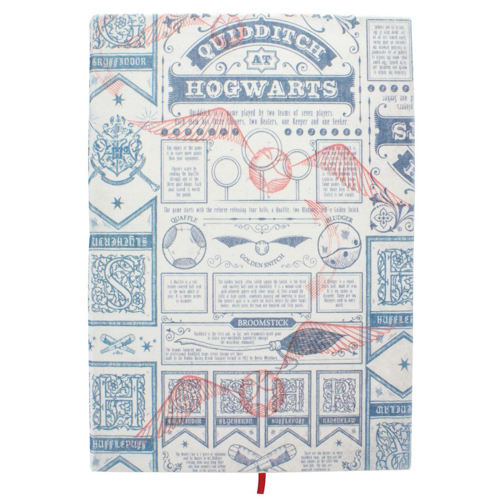 Harry Potter Notebook Quidditch