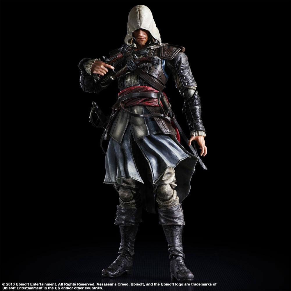 Assassin´s Creed IV Black Flag Play Arts Kai Action Figure Edward Kenway 28 cm