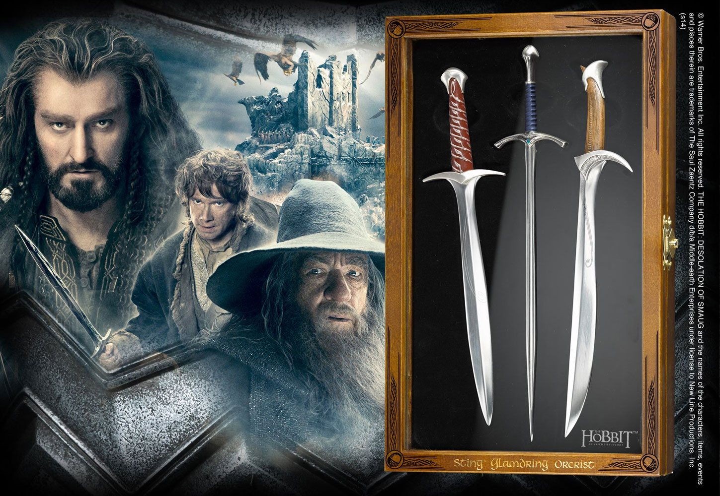 The Hobbit Letter Opener Set Swords
