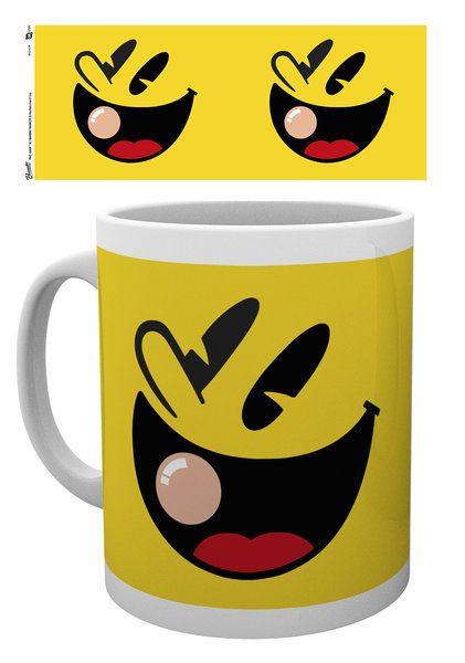 Pac-Man Mug Face