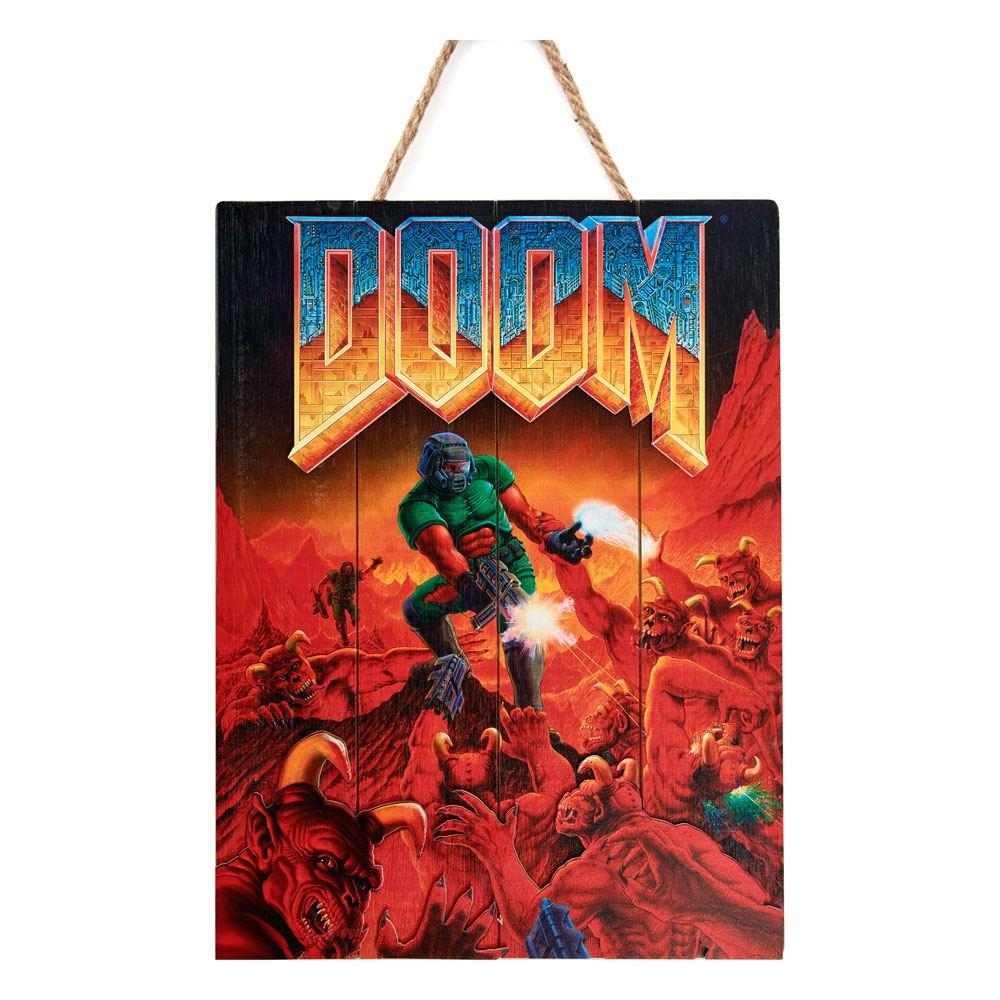 Doom WoodArts 3D Wooden Wall Art Classic 30 x 40 cm