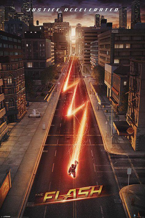 The Flash Poster Pack Lightning 61 x 91 cm (5)