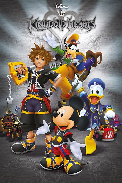 Kingdom Hearts Poster Pack Classic 61 x 91 cm (5)