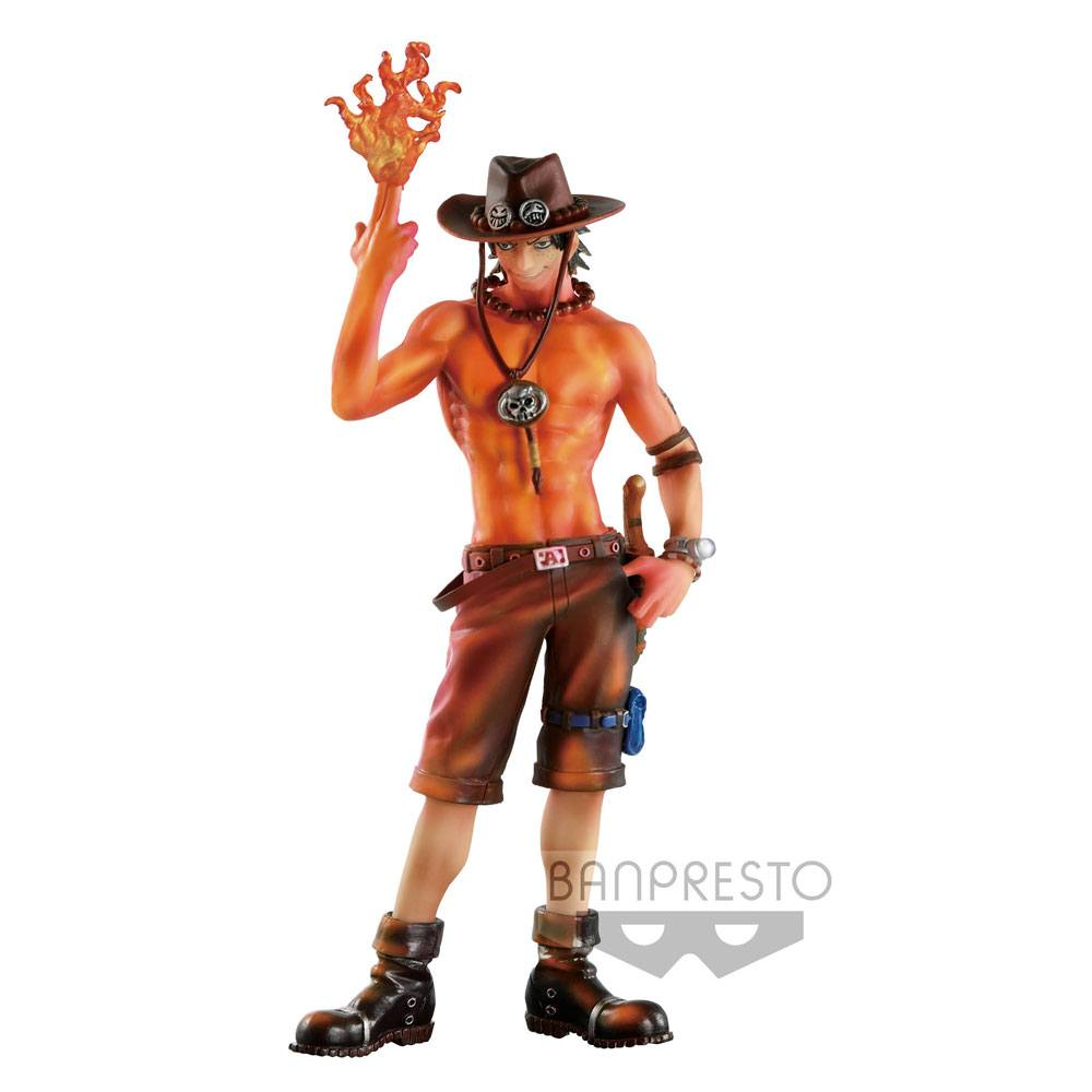 One Piece SCultures Figure Portgas D. Ace Burning Color Ver. 19 cm