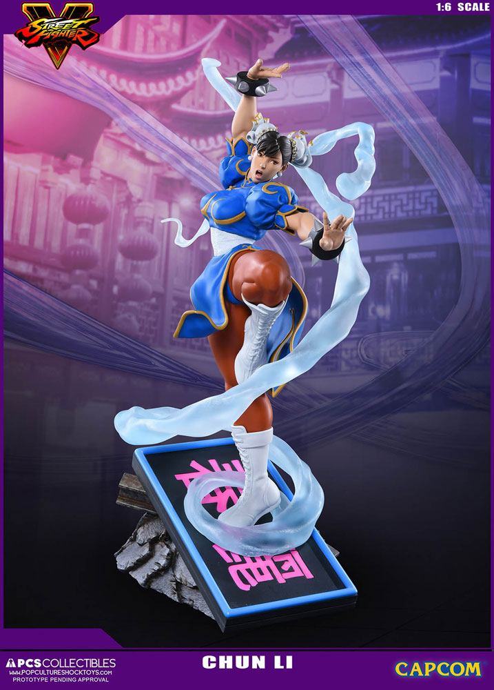 Street Fighter V Statue 1/6 Chun-Li 43 cm --- DAMAGED PACKAGING