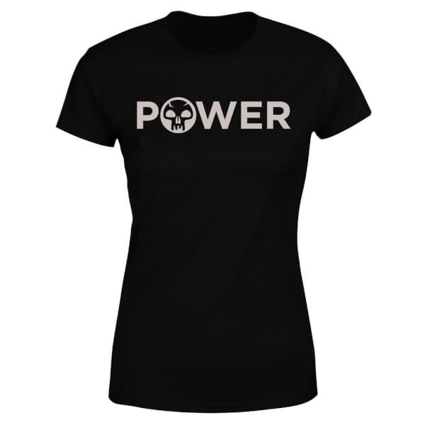 Magic the Gathering Ladies T-Shirt Power Size M