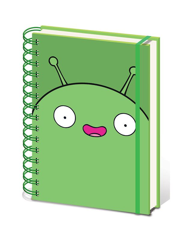 Final Space Wiro Notebook A5 Mooncake