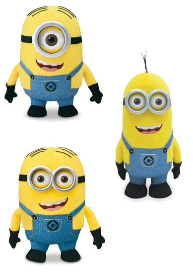 Despicable Me 2 Plush Figure 25 cm Wave 2 Non Electronic Display (6)