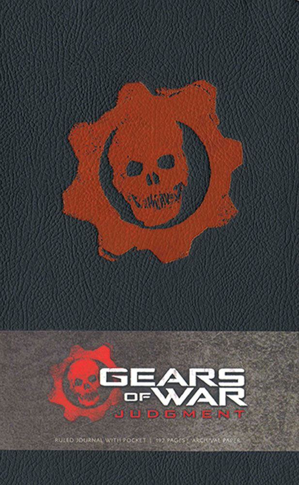 Gears of War Hardcover Ruled Journal Judgment