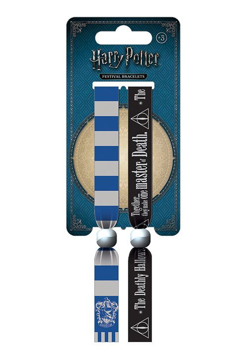 Harry Potter Festival Wristband 2-Pack Ravenclaw