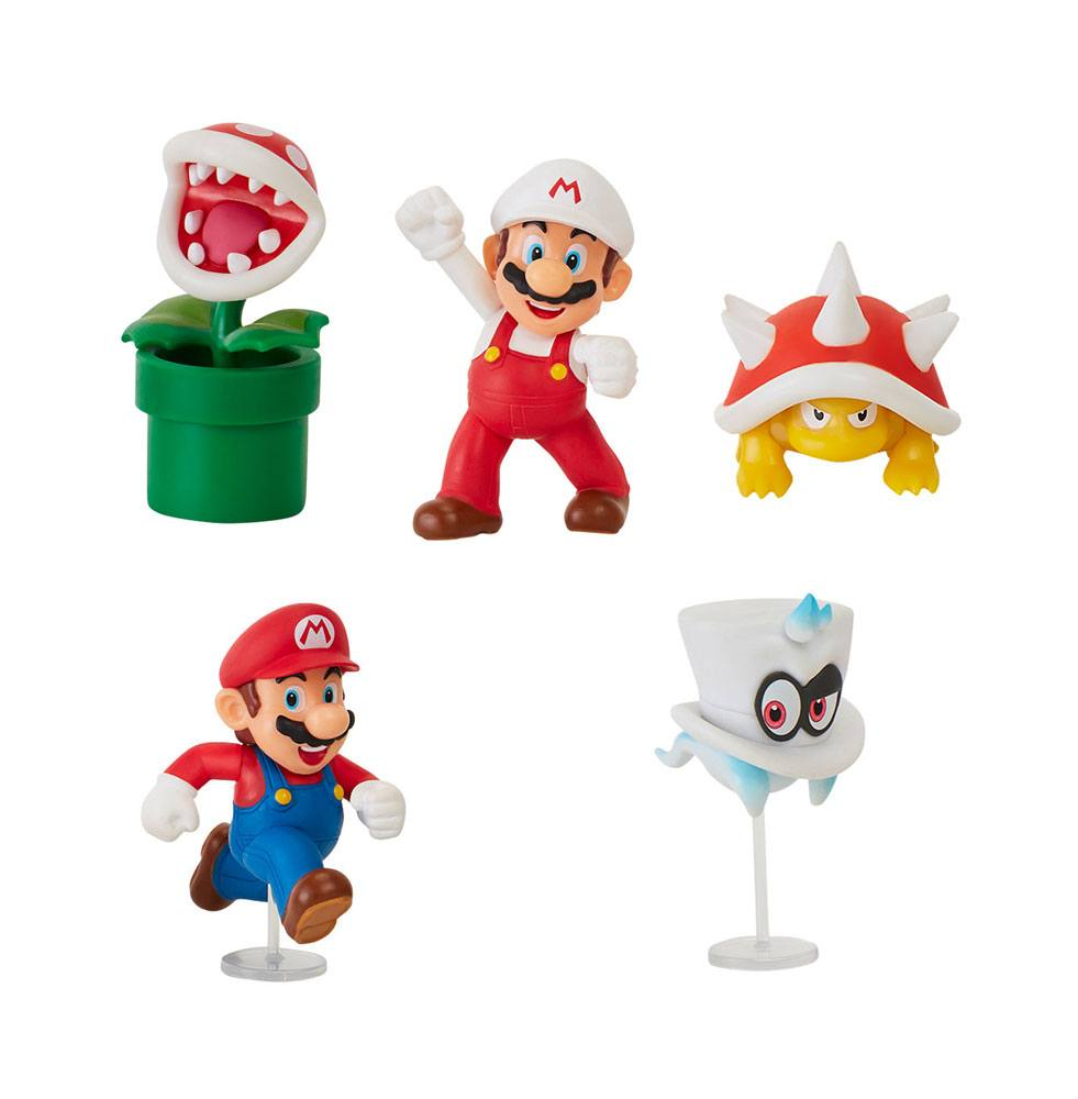 World of Nintendo Action Figures 6 cm Wave 19 Assortment (8)