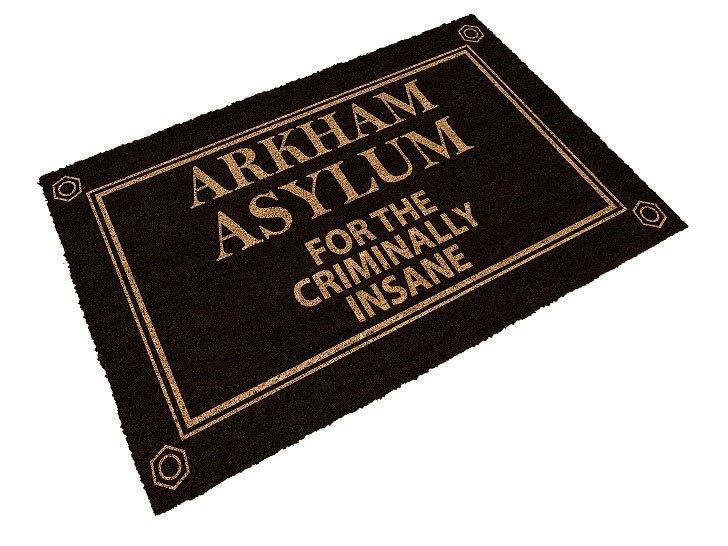 DC Comics Doormat Arkham Asylum 43 x 72 cm