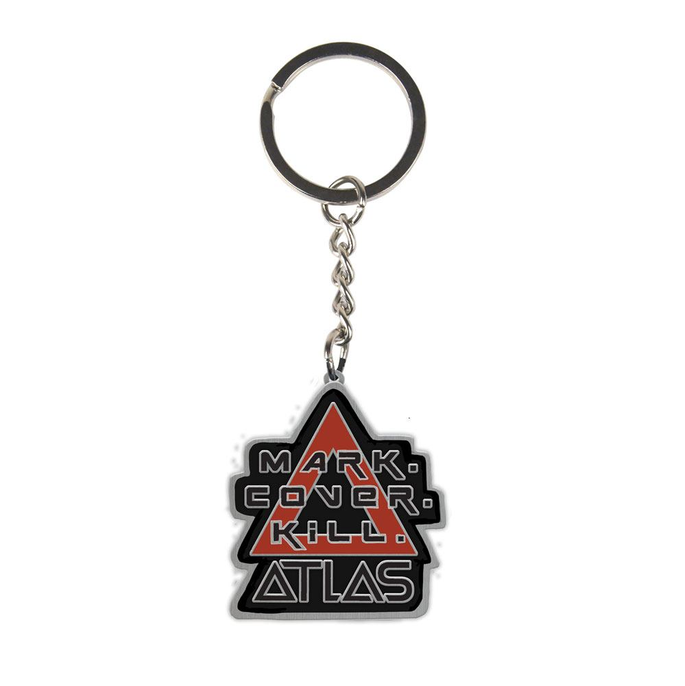 Borderlands 3 Metal Keychain Atlas