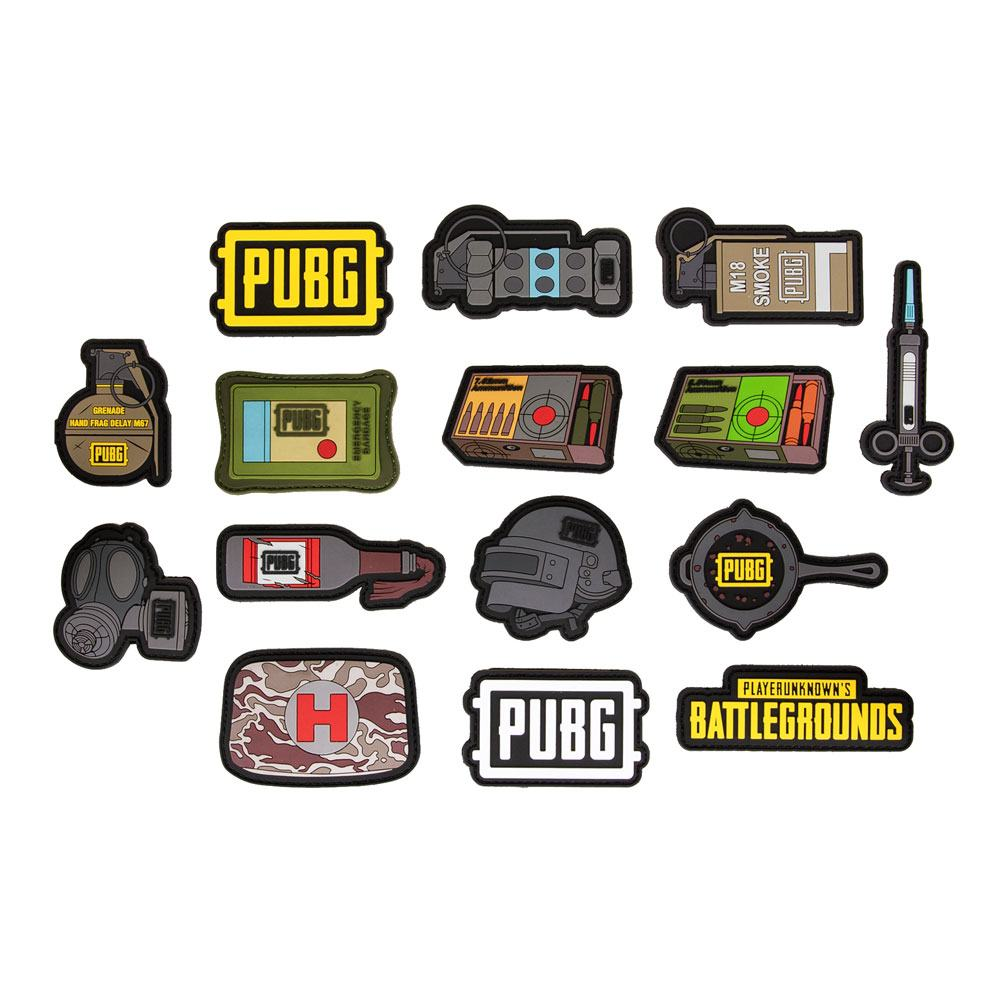Playerunknown's Battlegrounds (PUBG) Patches Assortment (50)