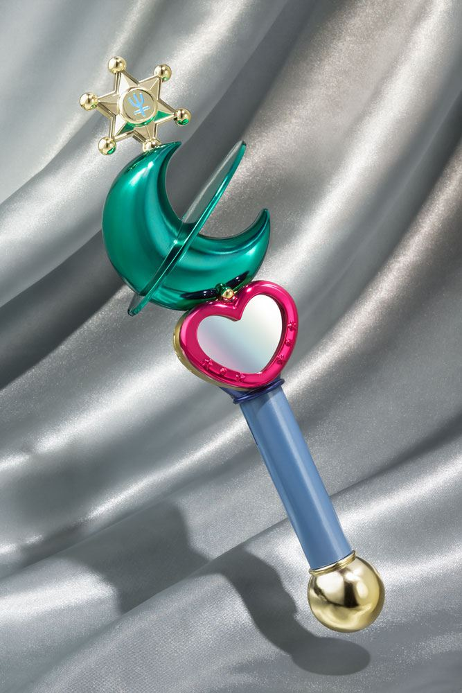 Sailor Moon Proplica Replica Transformation Lip Rod Sailor Neptune Tamashii Web Exclusive 21 cm