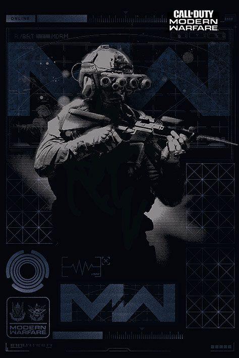 Call of Duty: Modern Warfare Poster Pack Elite 61 x 91 cm (5)