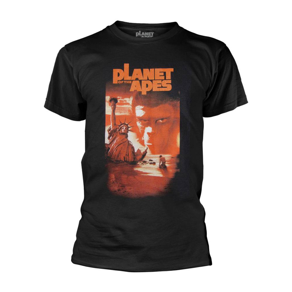 Planet of the Apes T-Shirt Liberty Duo Tone Size L