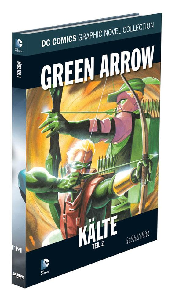 DC Comics Graphic Novel Collection #38 Green Arrow: Kälte, Teil 2 Case (12) *German Version*