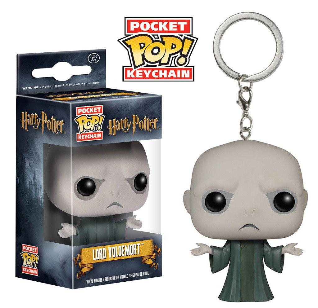 Harry Potter Pocket POP! Vinyl Keychain Lord Voldemort 4 cm