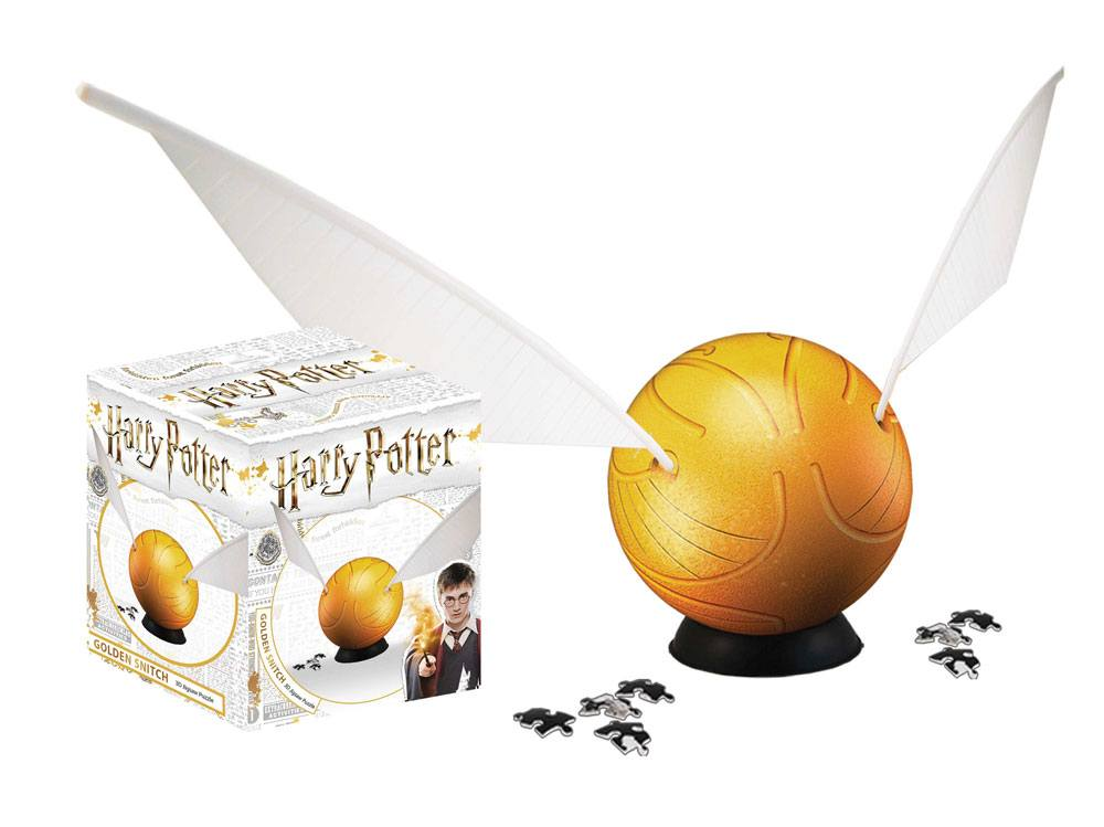 Harry Potter 3D Puzzle Golden Snitch (64 pieces)