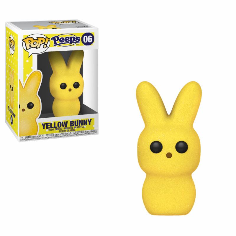 Peeps POP! Vinyl Figure Bunny Yellow 9 cm