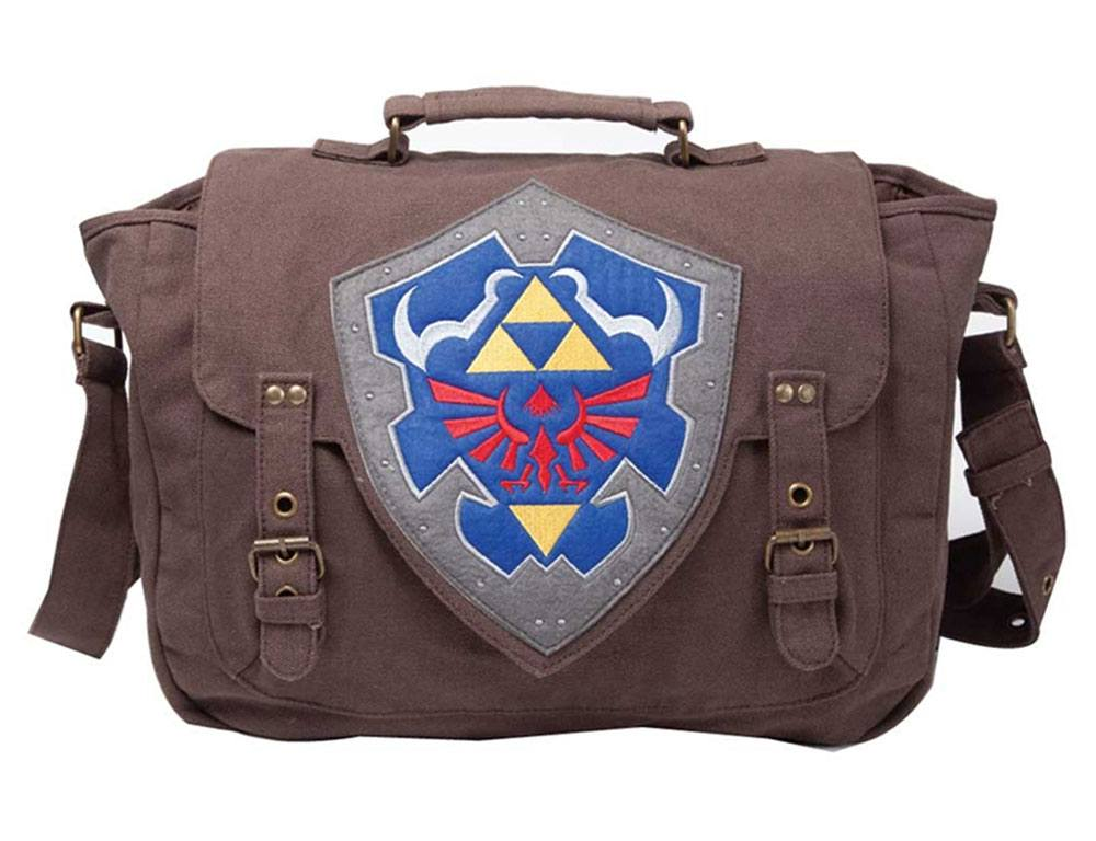Legend of Zelda Messenger Bag Hylian Shield