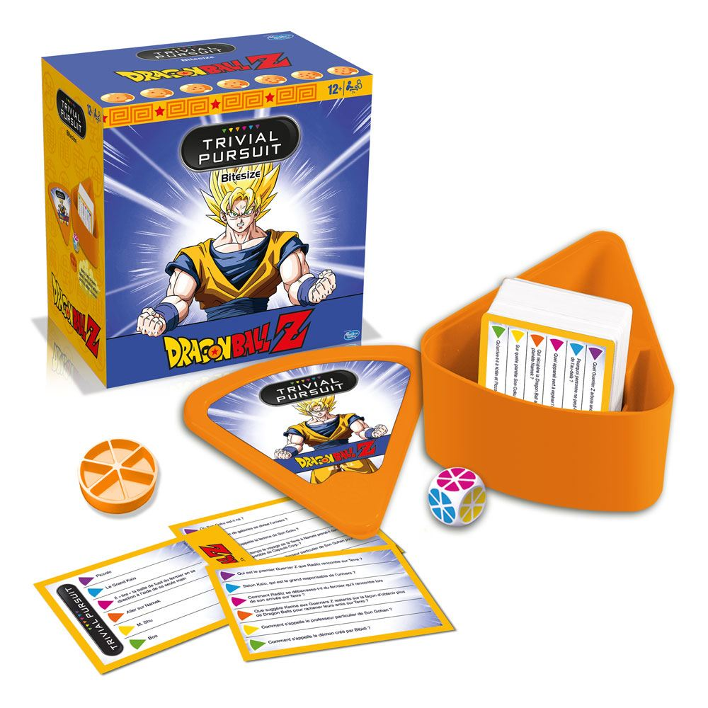 Dragon Ball Z Card Game Trivial Pursuit Voyage *French Version*