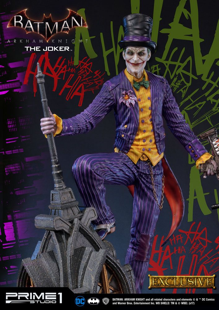 Batman Arkham Knight Statues Joker & Joker Exclusive 84 cm Assortment (3)
